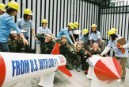 Greenpeace citizens' weapons inspection team catches U.S. red-handed