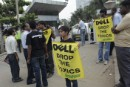 Greenpeace activists shame Dell for failing