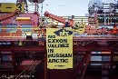 Activists scale ExxonMobil rig on 25th anniversary of Exxon Valdez