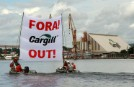 Greenpeace Activists in Brazil Block Cargill Soy Facility