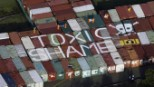 Australian toxic waste export stopped just in time