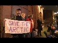 Arctic 30 members released on bail - Joyful moments in Saint Petersburg