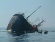 Spain's sinking hazardous ship