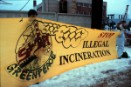 Action against illegal construction of incinerator