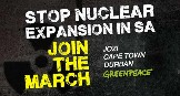 Join Greenpeace Africa to march for a nuclear-free South Africa