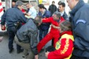 Greenpeace activists are arrested by French