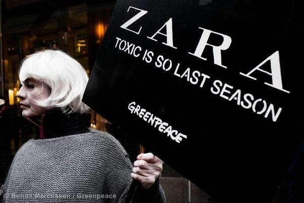 Zara: Toxic fashion is so last season