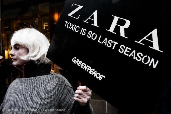 Zara: Toxic fashion is so last season