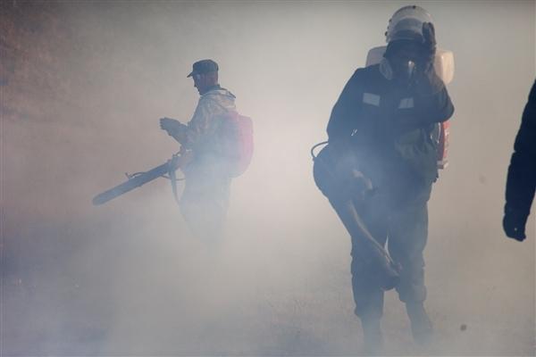 Volunteers are fighting fire in the Republic of Buryatia, Russia in 2016, Maria Vasilieva/Greenpeace