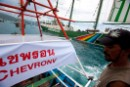 "Rainbow Warrior joins community protest-at-sea in Samui's ""ground zero"""
