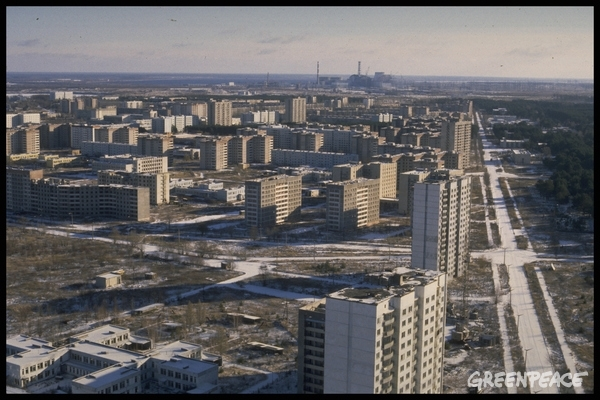 Deserted City of Pripyat © Clive Shirley / Signum / Greenpeace