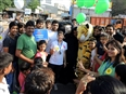 Raahgiri Day with Greenpeace India