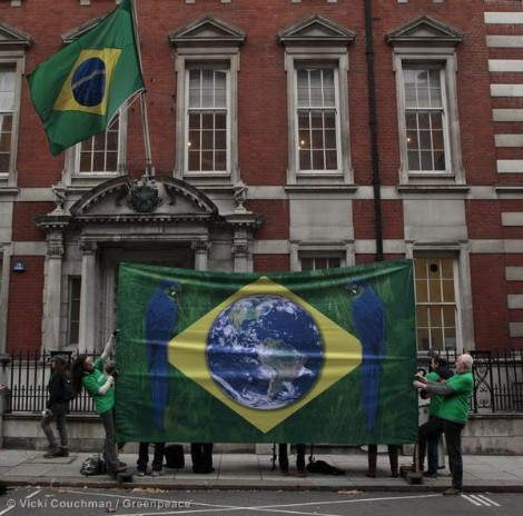 Save the Amazon in London