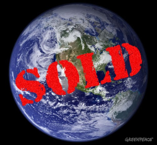 We are selling  out our planet´s resources to the highest bider, it is high time we put some strict  conditions on it.