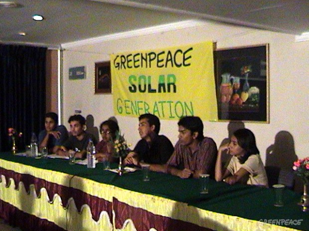the solar generation held a press meet on the 27th of