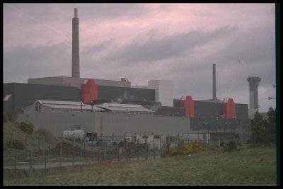 THORP (thermal oxide reprocessing plant). Sellafield, NW England.
