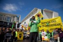 Kumi Naidoo at Berlin Anti-Nuclear Demo