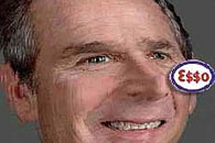 Led by the nose - George Bush