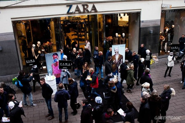 'Detox' Zara Day Of Action, Copenhagen.