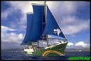The SV Rainbow Warrior