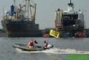 Greenpeace toxic patrol team exposes British