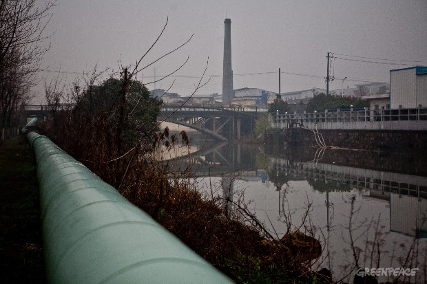 Chemical Plants Pipes in China
