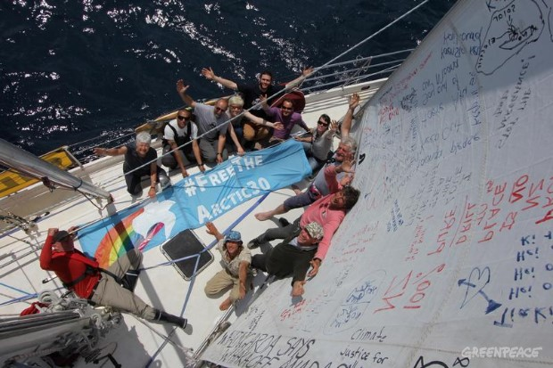 'Two Months Of Injustice' Aboard The 'Oil Free Seas' Flotilla in New Zealand.