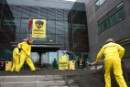 Tar Sands Action at Statoil HQ in Denmark