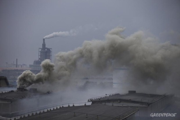 Pollution in The Hangzhou Bay Area