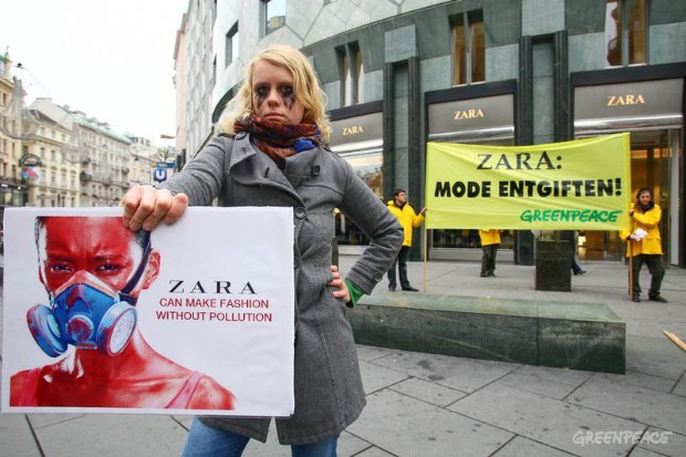 'Detox' Zara Day Of Action, Vienna