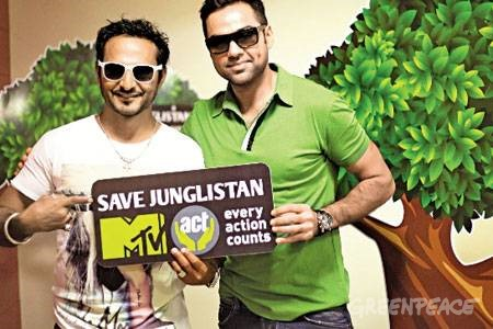 Greenpeace and MTV team up to save India's forests