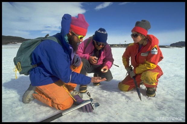 Antarctica Expedition 1990/91 1st leg