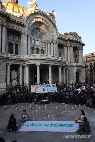 'Two Months Of Injustice' Global Day of Solidarity in Mexico