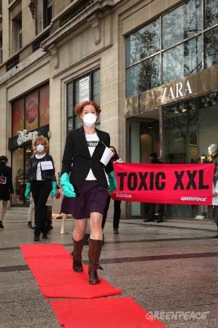 'Detox' Zara Day Of Action, Paris