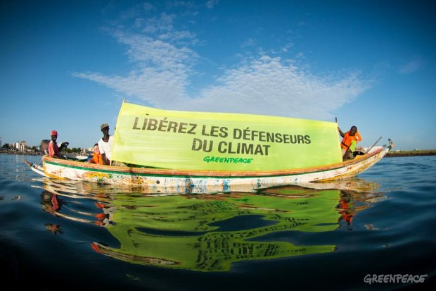 'Arctic 30' Global Day of Solidarity in Dakar