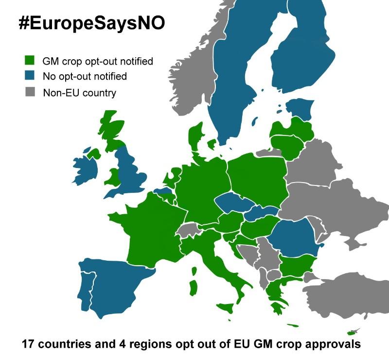 #EuropeSaysNo © Greenpeace