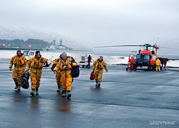 Kulluk Crew Rescued