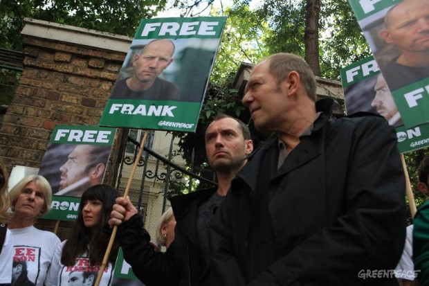 'Arctic 30' Global Day of Solidarity in London