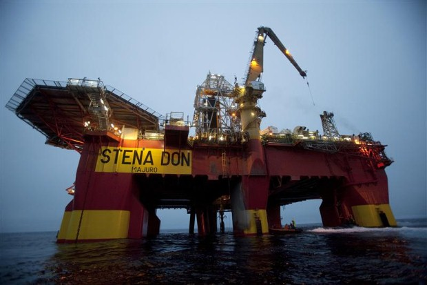 Drilling for oil in the Arctic