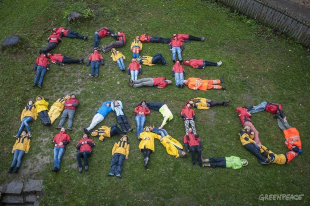 'Arctic 30' Global Day of Solidarity in Switzerland