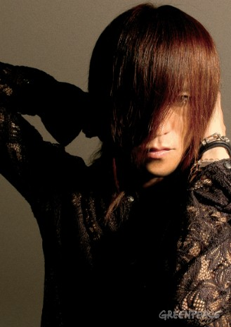 Sugizo, a famous Japanese musician.