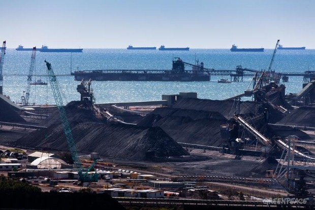 Hay Point Coal Terminal.