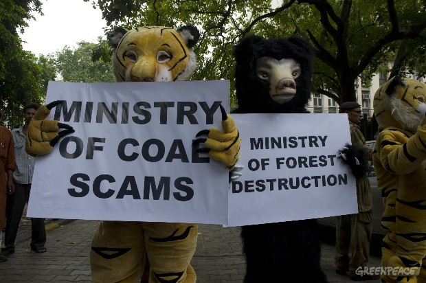 Action at Ministry of Coal in India
