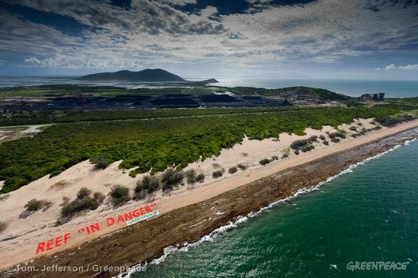 Banner At Abbot Point