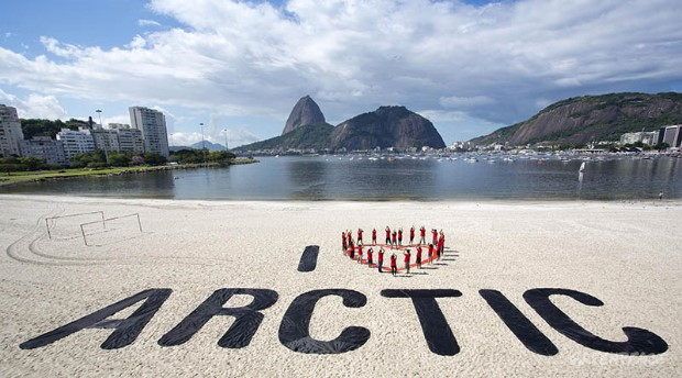 'I Love Arctic' Day of Action in Brazil