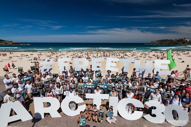 'Arctic 30' Global Day of Solidarity in Sydney