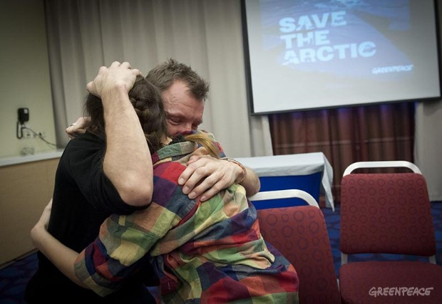 Amnesty Granted For The Arctic 30