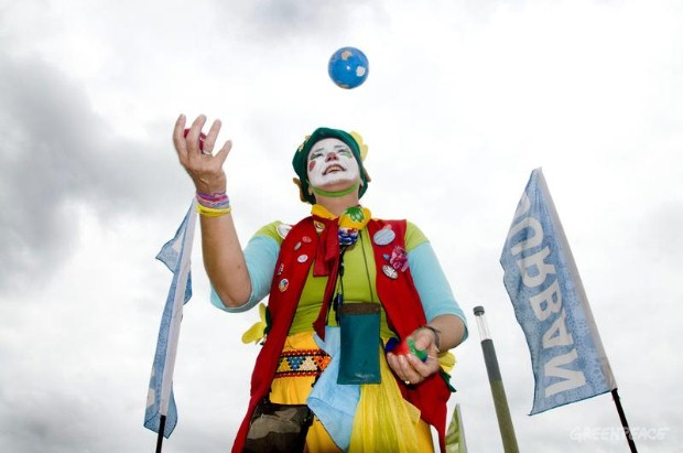 Juggling the world at COP17