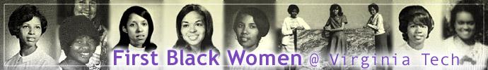 First Black Women at Virginia Tech