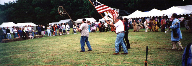 Monacan Nation Pow Wow, May 2000 (Native History at Virginia Tech)
